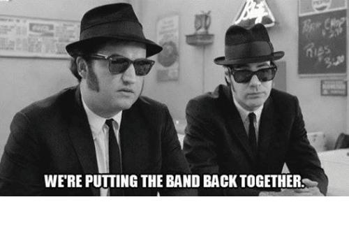Resultado de imagen de 'Putting the Band Back Together',
