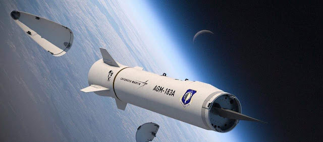 hypersonic missile test