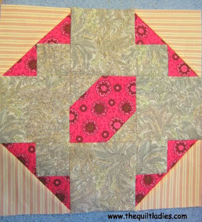 Fifty-Two Quilt Pattern Blocks in Fifty-Two Weeks, Week 20