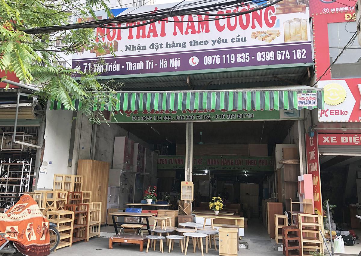 Cửa hàng nội thất Tủ nhựa Nam Cường tại 71 Tân Triều