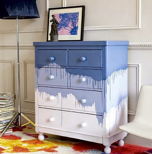 Unique Kitchen Paint Ideas: Dishfunctional Designs: Upcycled Dressers: Painted