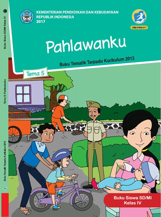 Download Buku Tema Untuk Guru dan Siswa K13 Kelas 1-6 Edisi Revisi 2017