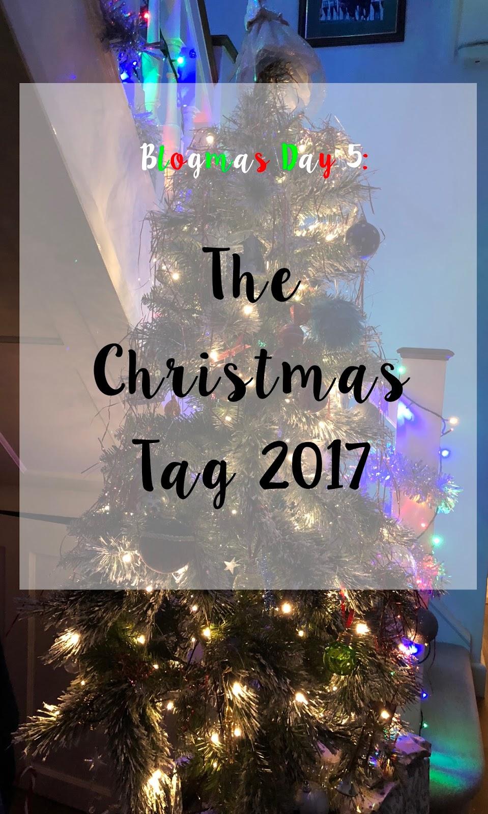 Blogmas Day 5: The Christmas Tag