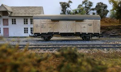 Lima HO scale NSB wagon
