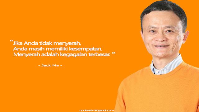 Kumpulan Kata bijak Jack Ma - QUOTWEB