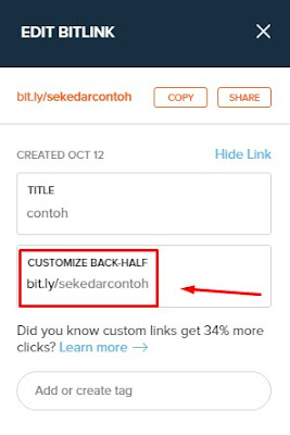 CUSTOMIZE BACK-HALF