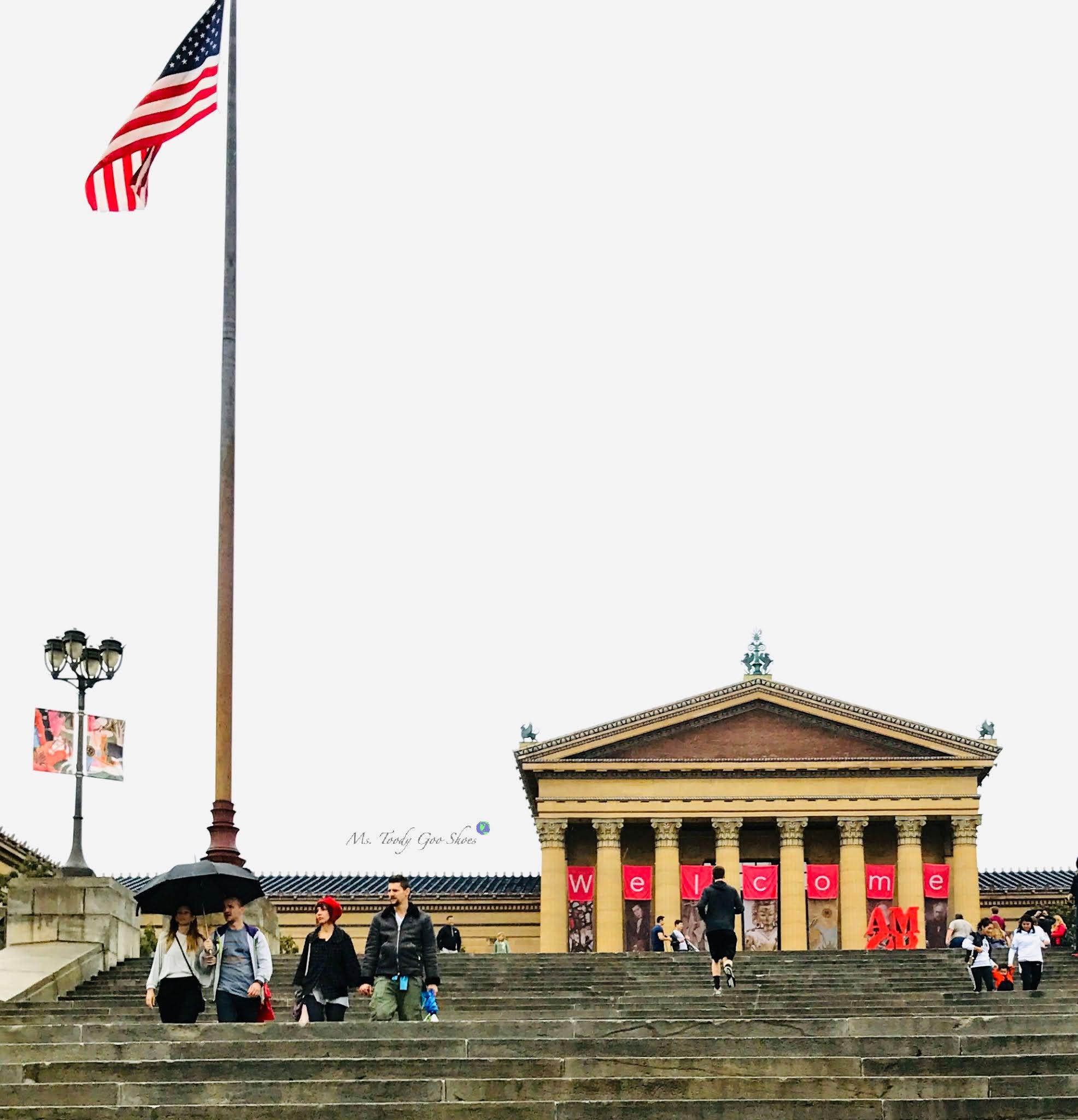 American Flags, Philadelfphia, PA | Ms. Toody Goo Shoes