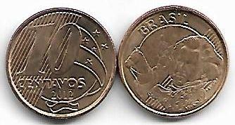 10 centavos, 2012