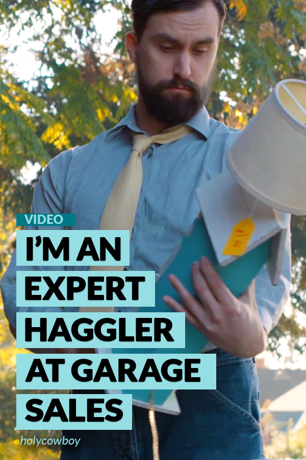 Hilarious video about haggling at Garage Sales