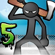 Game Anger of Stick 5: Zombie MOD Unlimited Money