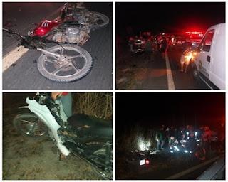 Acidente com motos deixa duas vítimas fatais entre Nova Floresta e Jaçanã