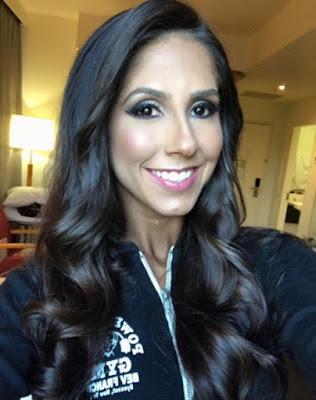 Angelica Teixeira smiling