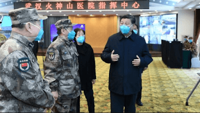 President Xi Jinping said he had won the battle against the virus in Wuhan City, the epicenter of the outbreak, and Hubei, the province to which he belongs.