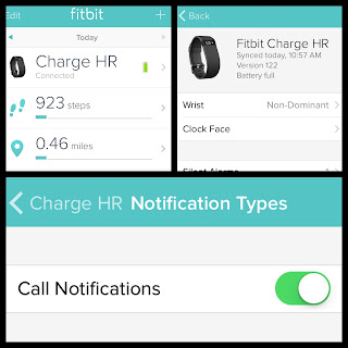 Turn On Phone Call Alerts On Your FitBit Charge HR!