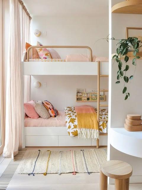 ديكورات غرف نوم اطفال صغيرة جدا 2021