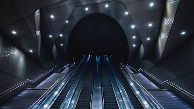 HD Wallpaper Metro, Station, Elevator, Tunnel