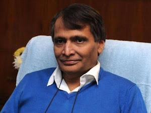 Suresh Prabhu for developing Maharashtra coast as tourist destination