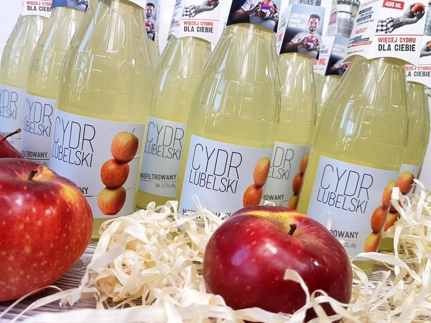 Cydr lubelski niefiltrowany - kuszący smak jabłka