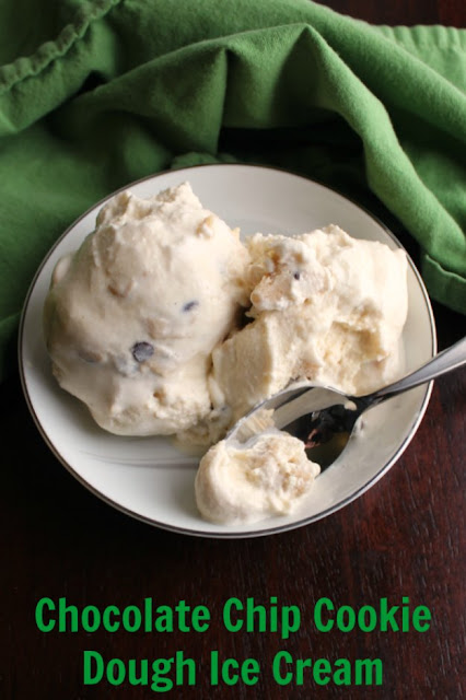 A creamy vanilla ice cream kissed with brown sugar and loaded with homemade cookie dough chunks, this is a dessert that's hard to top. Give that ice cream maker a workout and make some today!