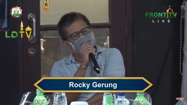 Rekening Anak Habib Rizieq Diblokir, Rocky: Otaknya Rezim Kemasukan Kecoak!