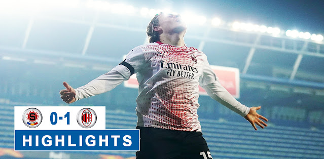 Sparta Praha vs Milan – Highlights