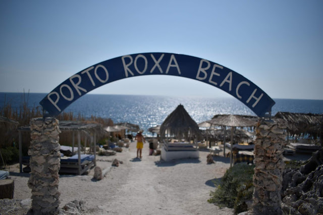 Widok na Porto Roxa Zakynthos