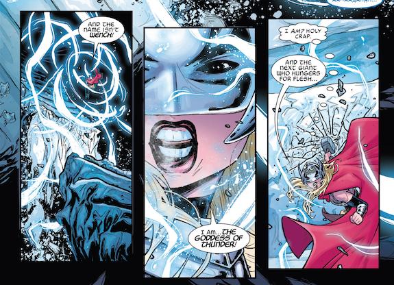 Reseña de Marvel Now! Deluxe. Thor de Jason Aaron 3. La Diosa del Trueno, Panini Cómics.