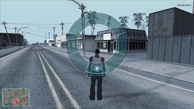 GTA V Hud Mod For GTA San Andreas With Loading Screen Mod