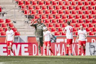 Nigerian U23 striker thrilled after scoring his first Bundesliga goal for Mainz