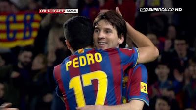LFP-Week-30 Barcelona 4 vs 1 Bilbao 03-04-2010