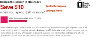 Value Village Coupon screenshot Save $10