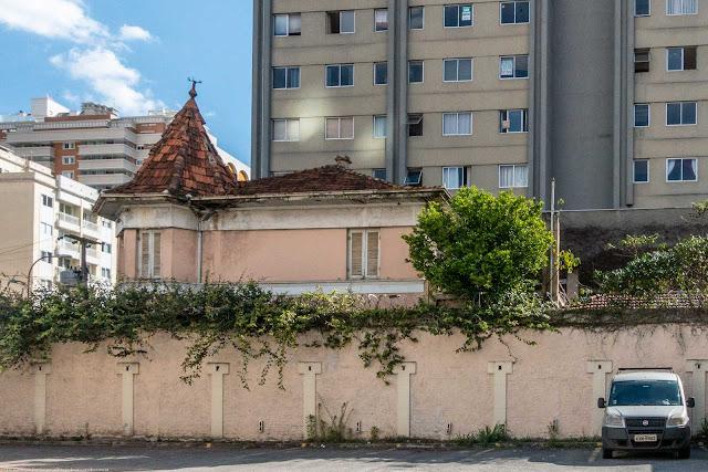 A casa de Dona Fraia Schrappe - vista lateral
