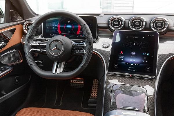 Interior Mercedes Benz Clase C 2022