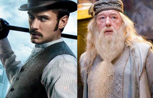 Jude Law está ansioso para conhecer J.K. Rowling e conversar sobre o jovem Alvo Dumbledore | Ordem da Fênix Brasileira
