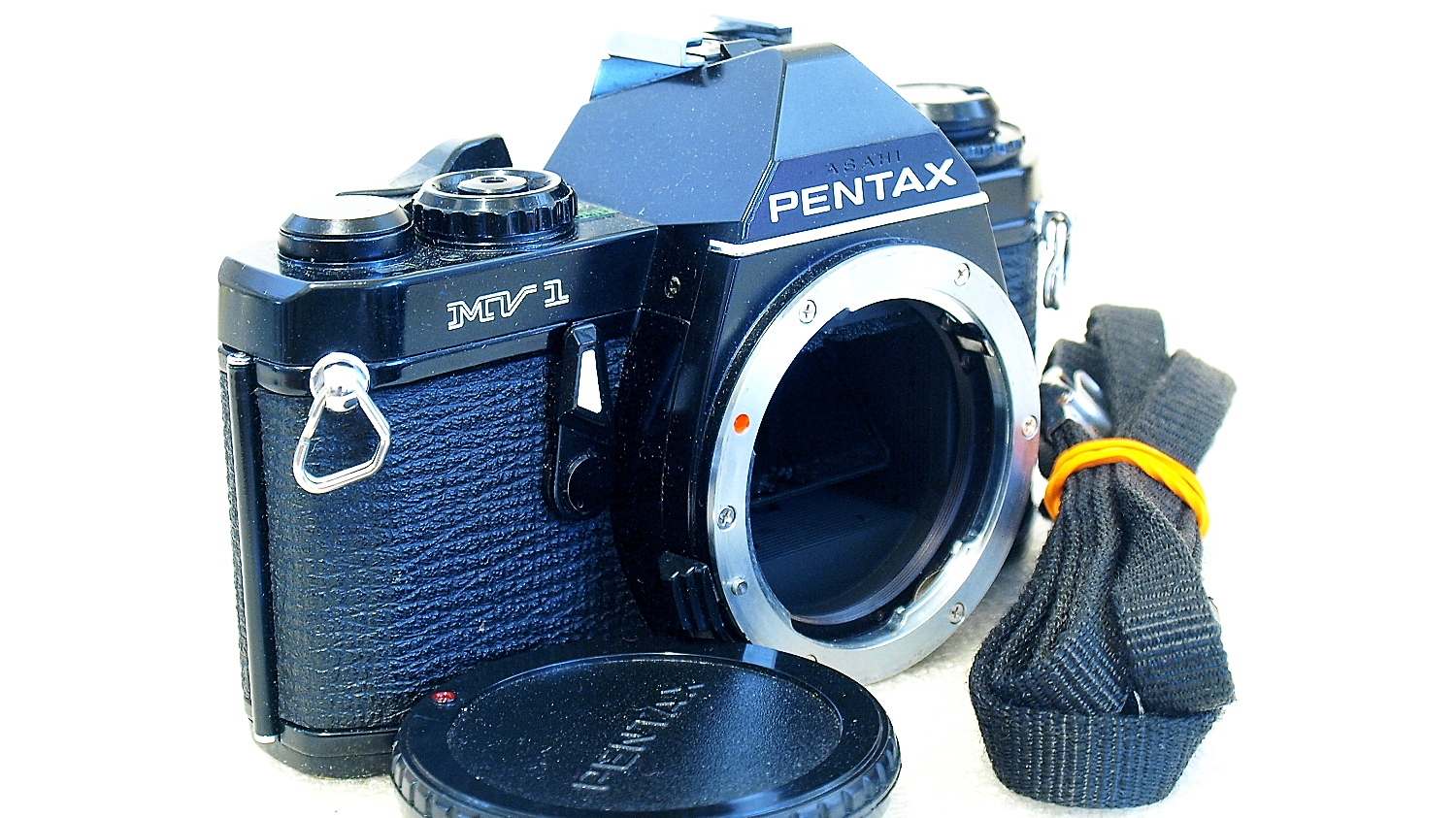 Pentax MV1 35mm SLR (Black) Body #866
