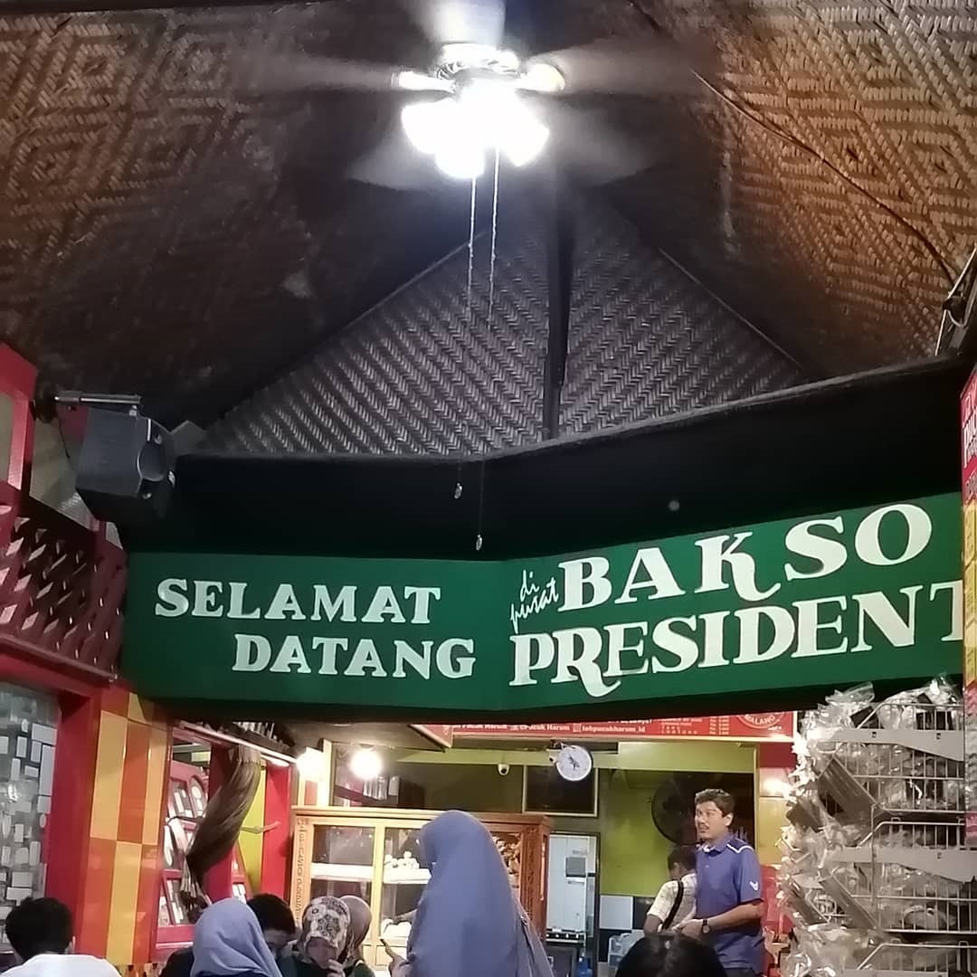 Bakso President Pulosari Malang