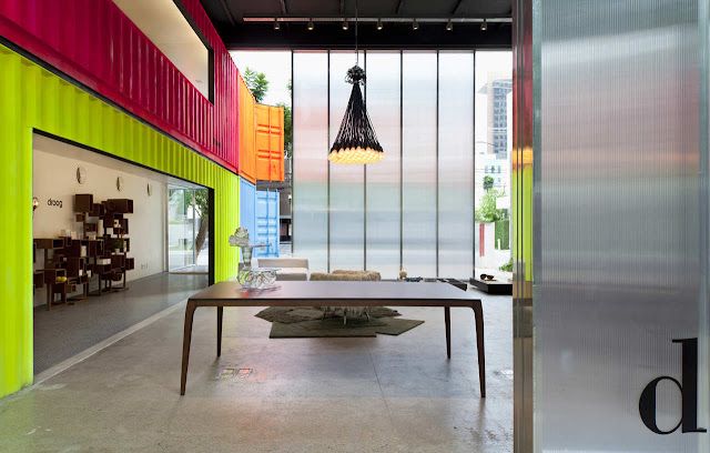 Decameron - Low Budget Colorful Shipping Container Store, Brazil 24