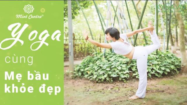 Khóa học Yoga cùng mẹ bầu khỏe mạnh