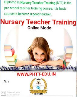 Nursery Teacher training