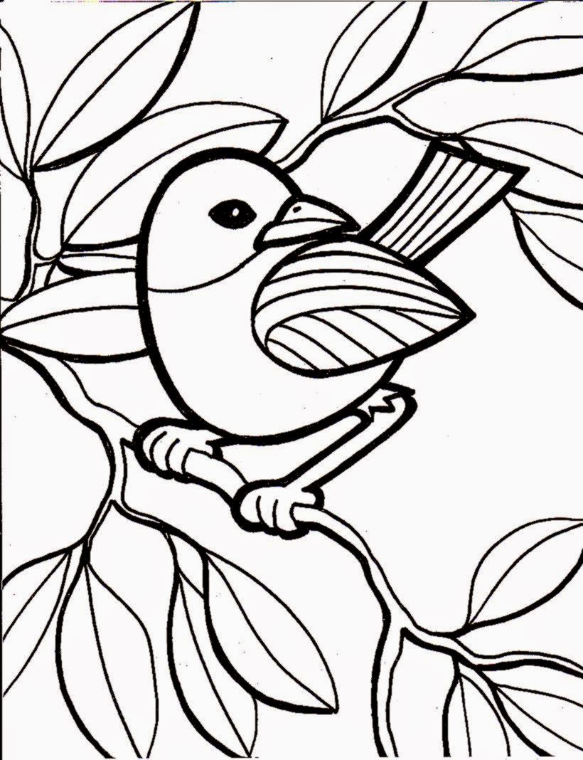 Fun Coloring Pages For Kids | Free Coloring Sheet