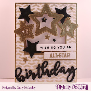 Stamp/Die Duos: Birthday  Stamp Set: All-Star Jersey  Mixed Media Stencil:  Arrows Stencil  Custom Dies: Pierced Rectangles, Pierced Squares, Squares, Double Stitched Stars, Sparkling Stars, Log Cabin