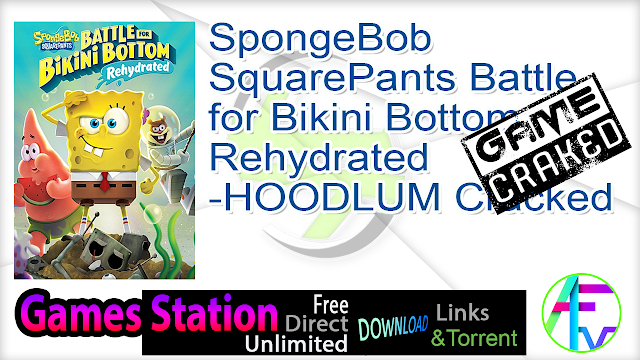 SpongeBob SquarePants Battle for Bikini Bottom Rehydrated-HOODLUM Cracked