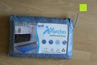 Verpackung: Norcho 50x80cm Absorbierende Rutschfeste Badematte für Hund und Badezimmer Blau