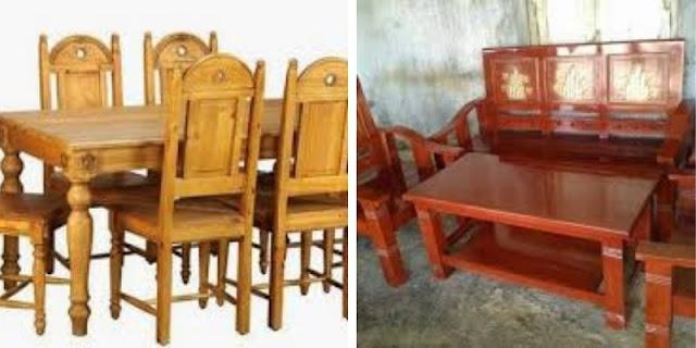 kursi & meja kayu jati