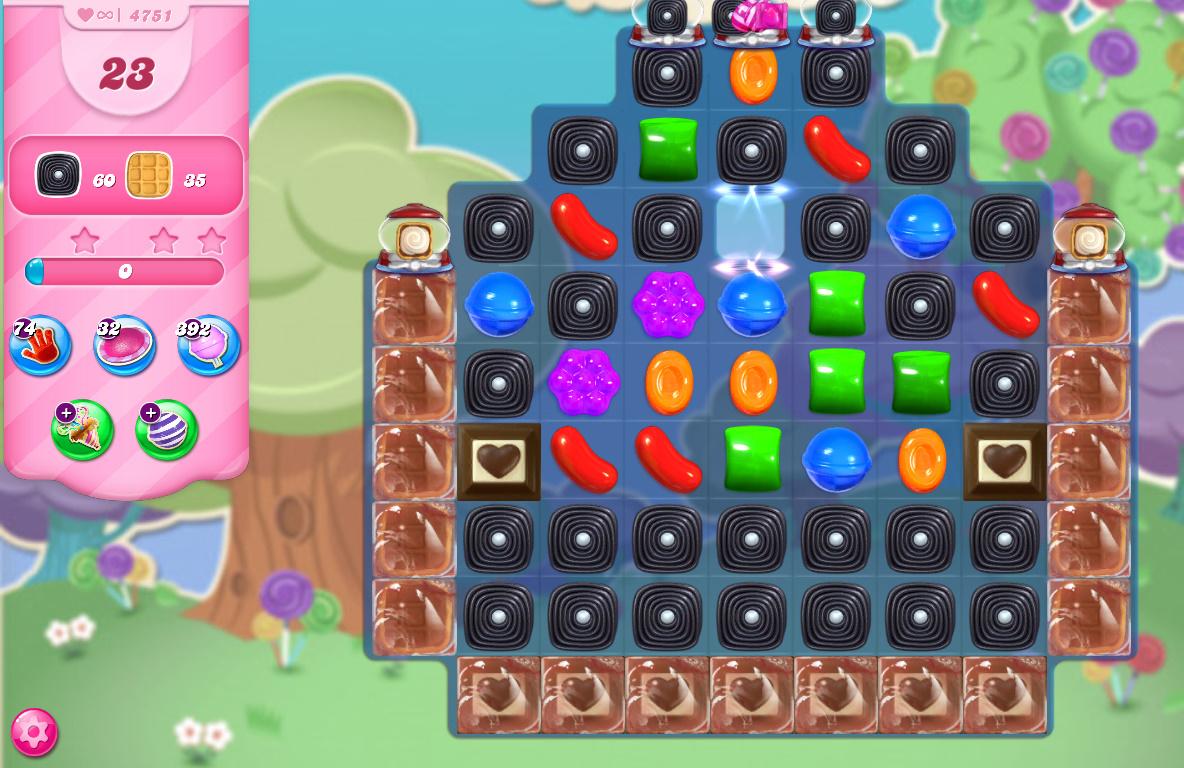 Candy Crush Saga level 4751