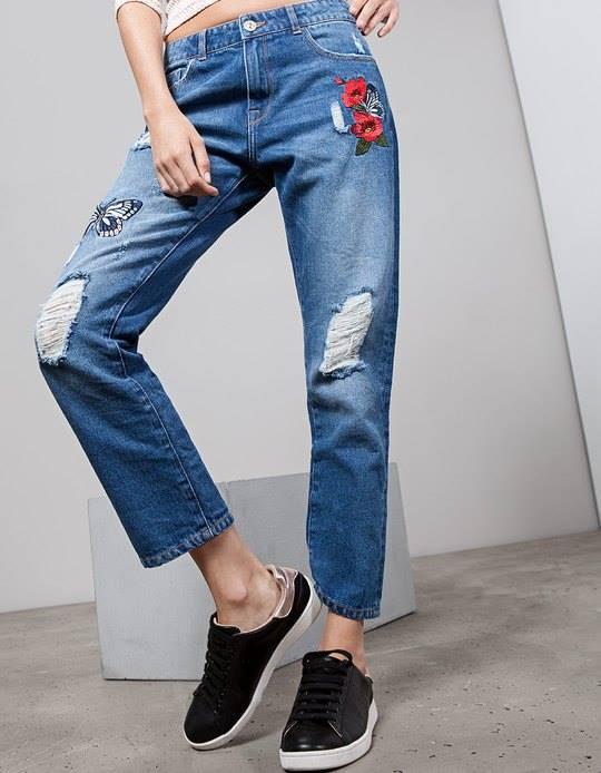 6 mẫu quần jean lên ngôi 2018