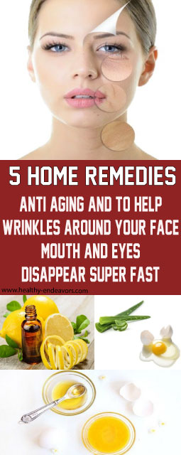 Old Grandmas 5 Home Remedies For Anti Aging and To Help Make Wrinkles Around Your Face, Mouth And Eyes Disappear Super Fast!