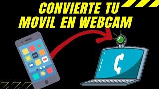 Como usar tu celular como webcam para videollamadas en tu PC
