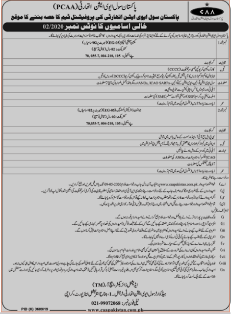 pakistan-civil-aviation-authority-jobs