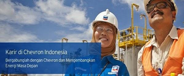 CHEVRON INDONESIA : KEPALA PRODUKSI, STAFF ADMINISTRASI, SKR, SR DAN CUSTOMER SERVICE - MAMAJU, SULAWESI